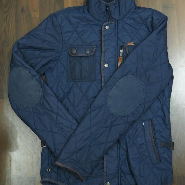 Quilted Jacket Pull and Bear