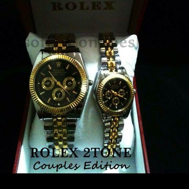 Rolex Couple Watch