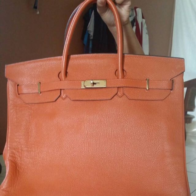 07aca61e70 Sale Hermes Birkin 40cm Orange on Carousell