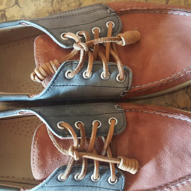 Sebago Size 11 Used Twice For Malling