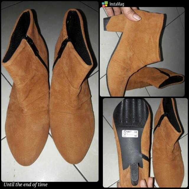 Reprice Sepatu Boot