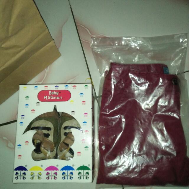 Siap Cod Besok Chino Zara&shoes Babymillioner