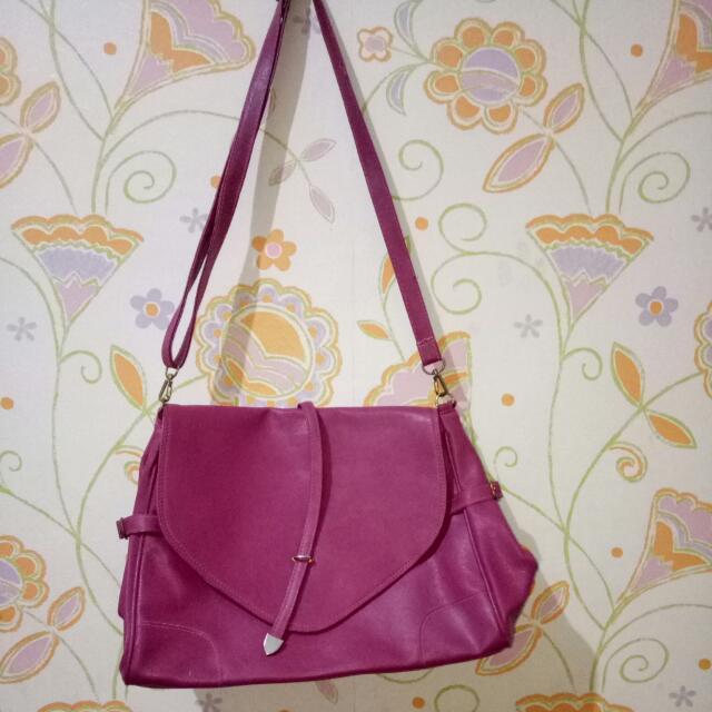 slingbag pink
