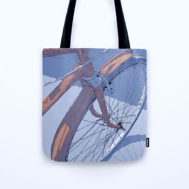 Society6 Bicycle Canvas/Tote Bag