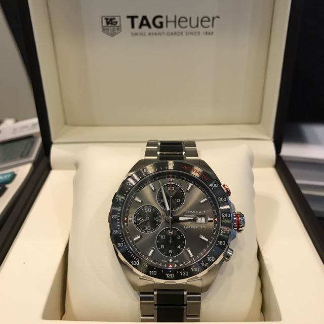 1e408a3810f Tag Heuer Formula 1 Calibre 16, Luxury, Watches on Carousell
