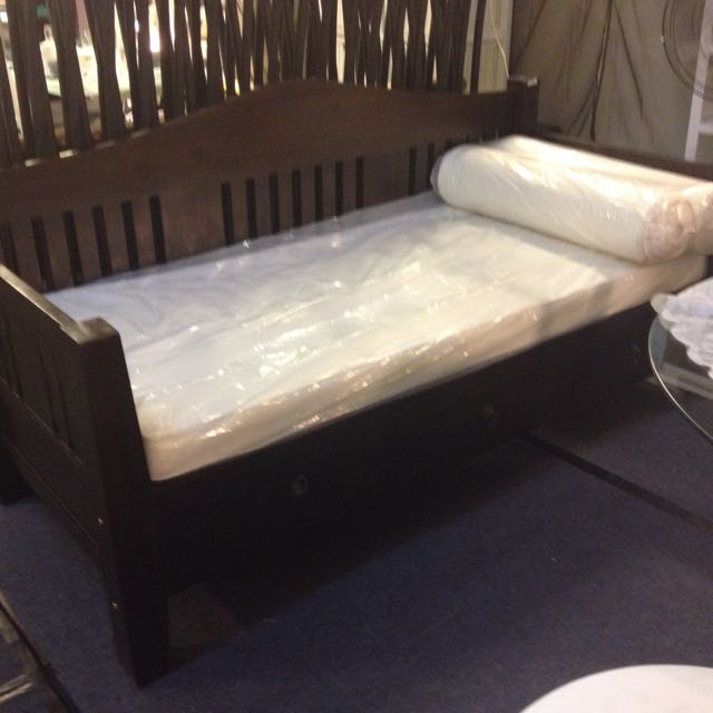 Teak Wooden Daybed Sofa Bed Low Price Warehouse Furniture On