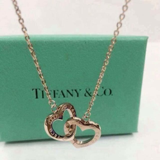 Tiffany & Co. High Quality Stainless Steel Necklace