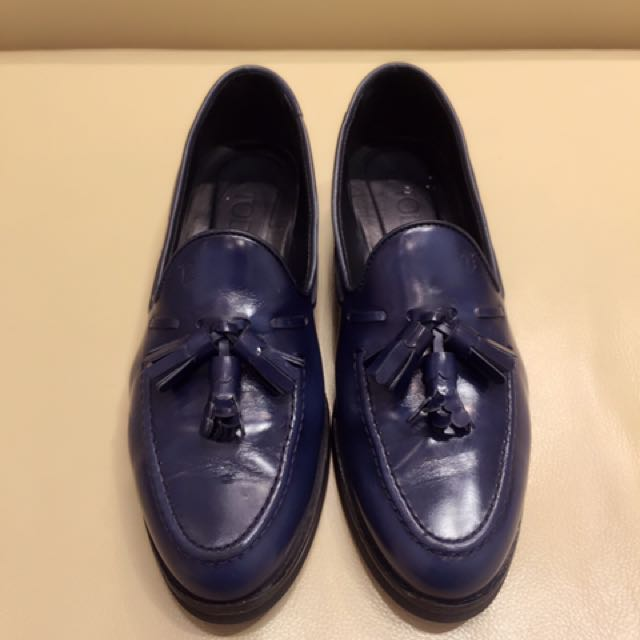 TOD'S 牛皮學生鞋