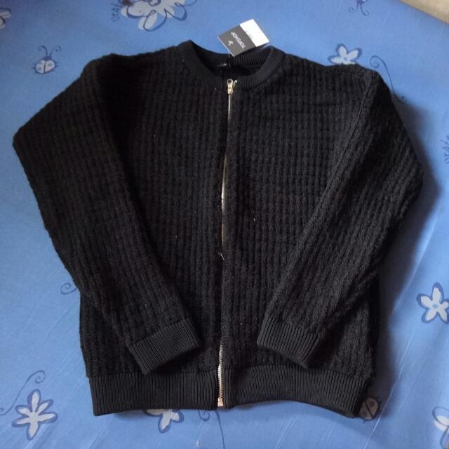 Topshop Knit Jacket