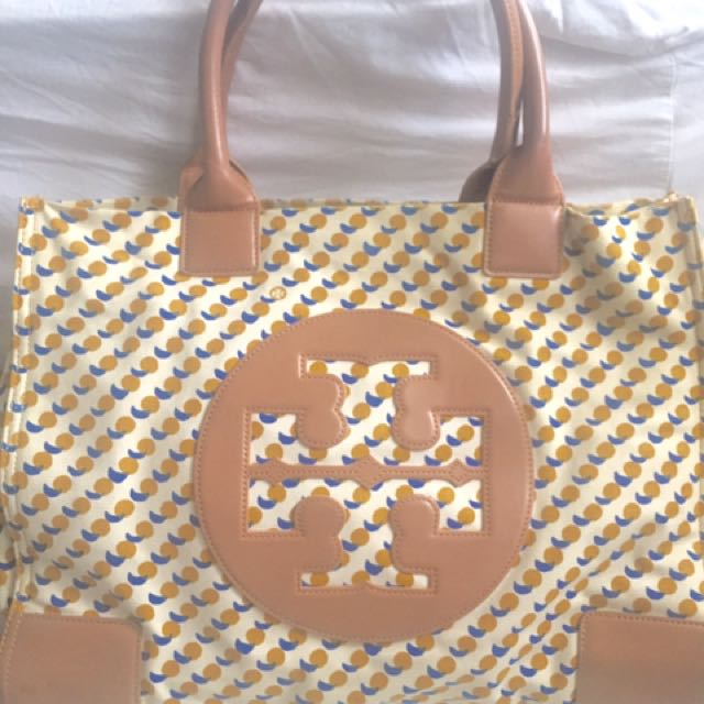 Tory Burch Canvas Tote Bag Authentic