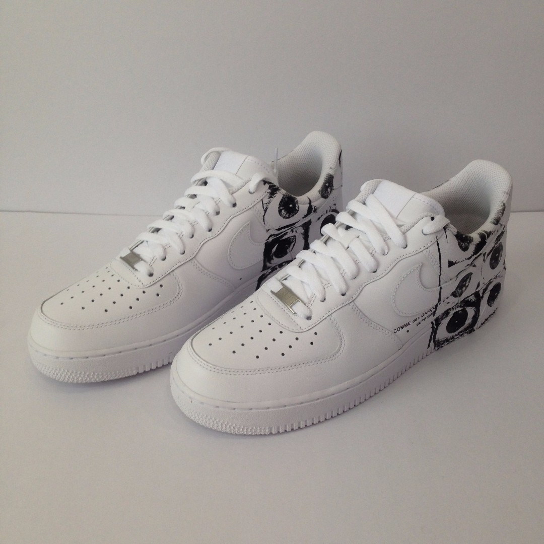 promo code d71d7 556fe US10.5 Supreme X Commes des Garcons X Nike Air Force 1 Low ...