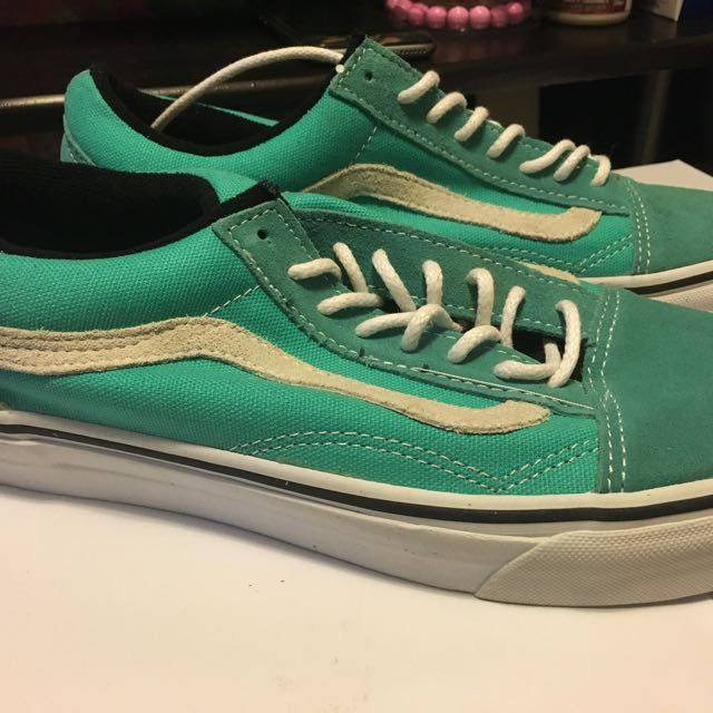 Vans Sk8 Low Tiffany Green Skateboard Off The Wall Yeezy