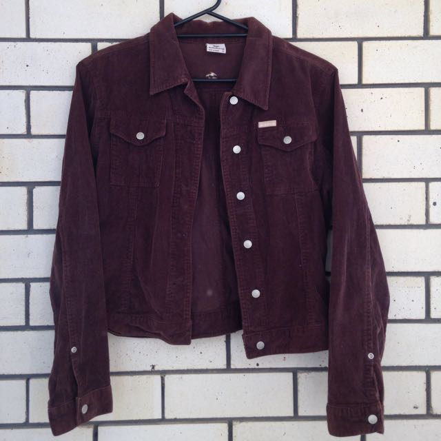 Vintage Brown Corduroy Jacket