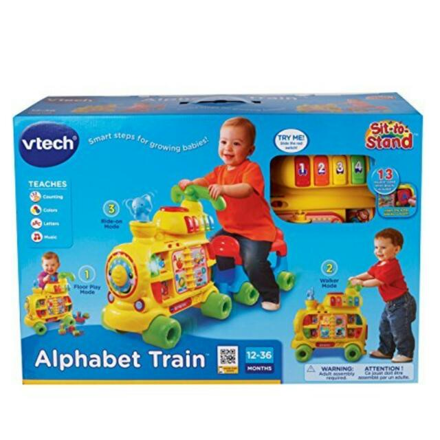 VTech Sit-to-Stand Alphabet Train 12-36mos