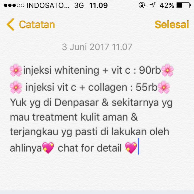 whitening Treatment Denpasar