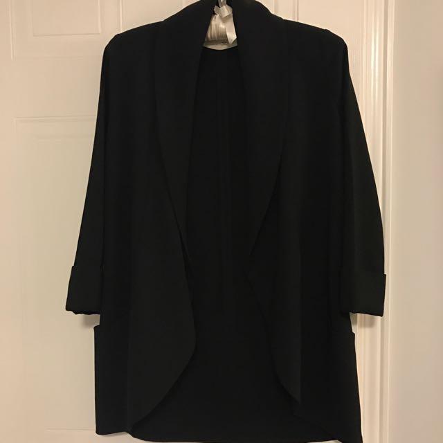 Wilfred Black Chevalier Jacket Size 0