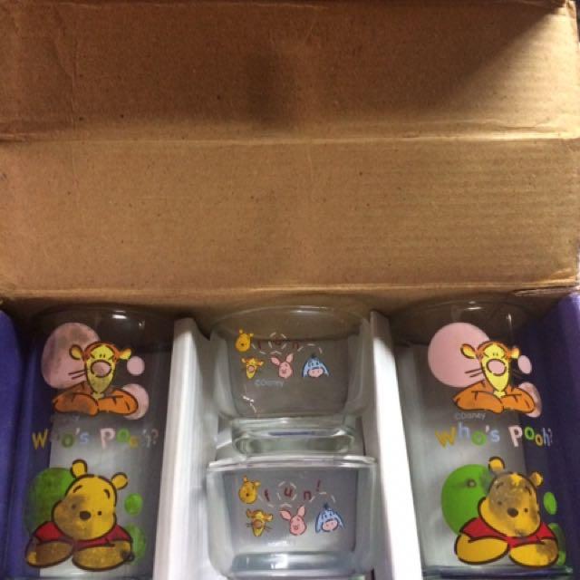 Winnie The Pooh Glass Set
