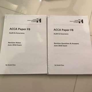ACCA F8 Revision Note - LSBF (Daniel Chee)