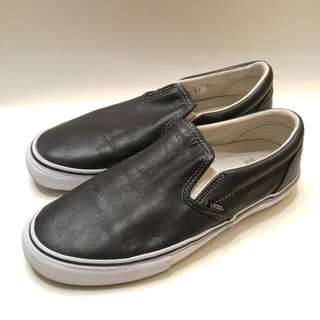 Vans Vault Leather Slip On