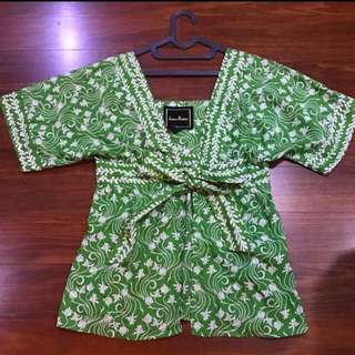 Green Ethnic Outer
