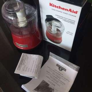 KitchenAid food Chopper- Red