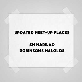 NEW Meet-Up Locations