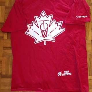 Raptors Playoffs Shirt - Maple Leaf