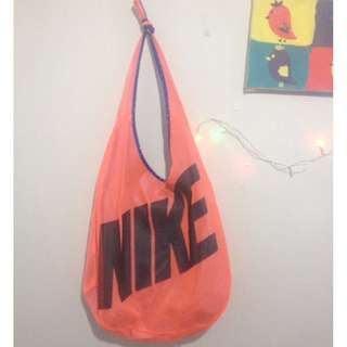 NIKE Reversible Shoulder Bag ORIGINAL #Peach