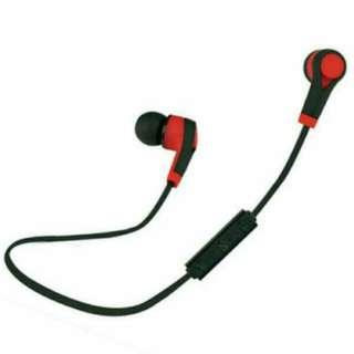 #Summer40 Wireless Headsets Bluetooth   Red