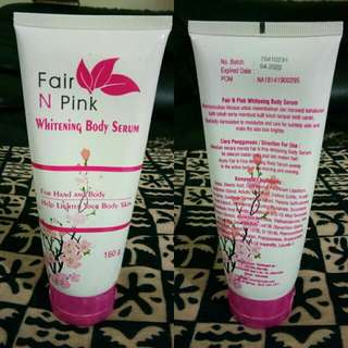Preloved Fair N Pink Body Serum Ori