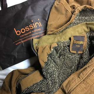 Mens Warm Winter Jacket Bosini London Original