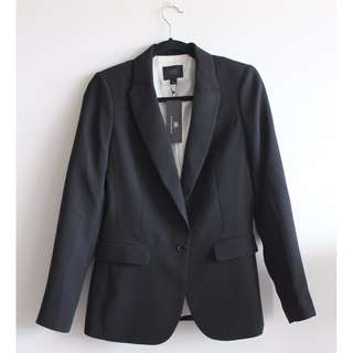Sz 6 - Banana Republic Monogram Blazer NWT
