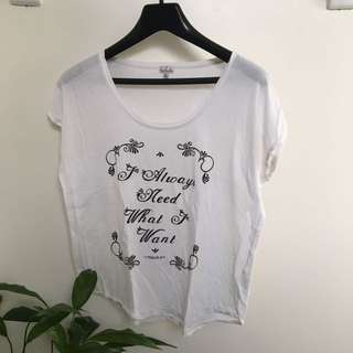 Talula Graphic Top