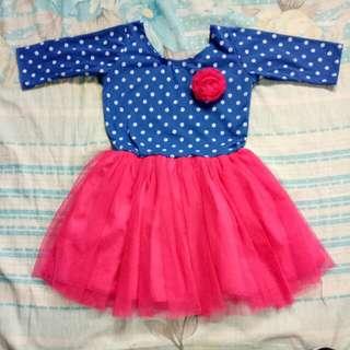 Polka Dots Tutu Dress