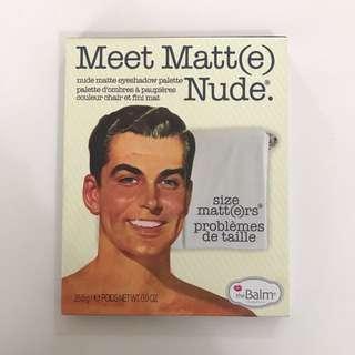 The Balm Meet Matte Nude Palette