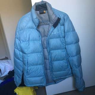 Light Blue/grey Fairydown Puffer