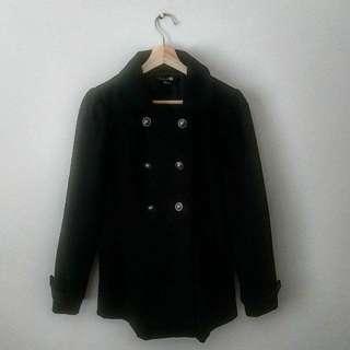 Medium | Black coat from Forever 21