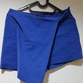 Skort Zara Small Blue