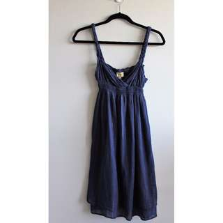 Sz  S - Ella Moss Navy Sundress