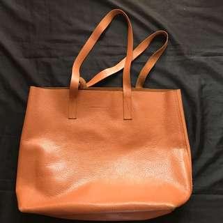 Genuine Leather Tote
