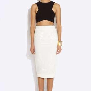 AQ/AQ 'Kayne Midi Skirt'