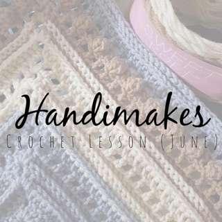 Crochet Lessons (June)