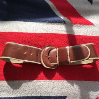 Vintage DKNY Italian Leather Belt