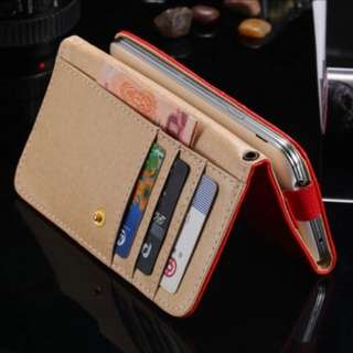 Universal Phone Wallet For iPhone 7 6 6s 5 5s Samsung Galaxy S5 S6 S7