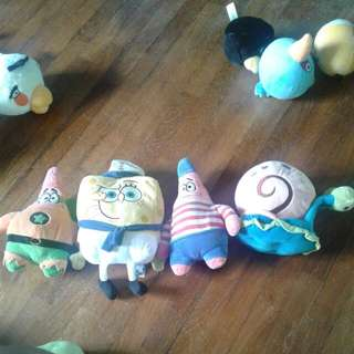 Spongebob Plushies