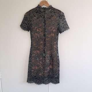 Witchery Lace Detail Dress