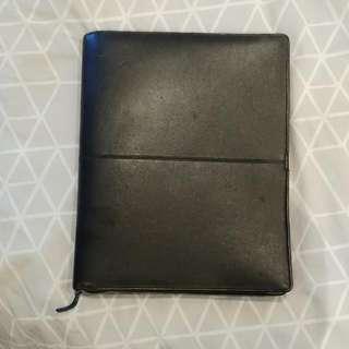 Oroton Compendium Leather