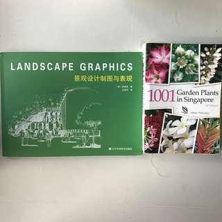 Giveaway- Landscape Architecture / Horticulture Books