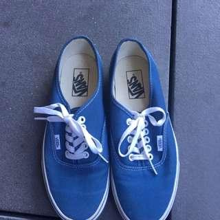 ORIGINAL VANS BLUE