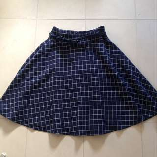 Size 8 Review Belted Skirt